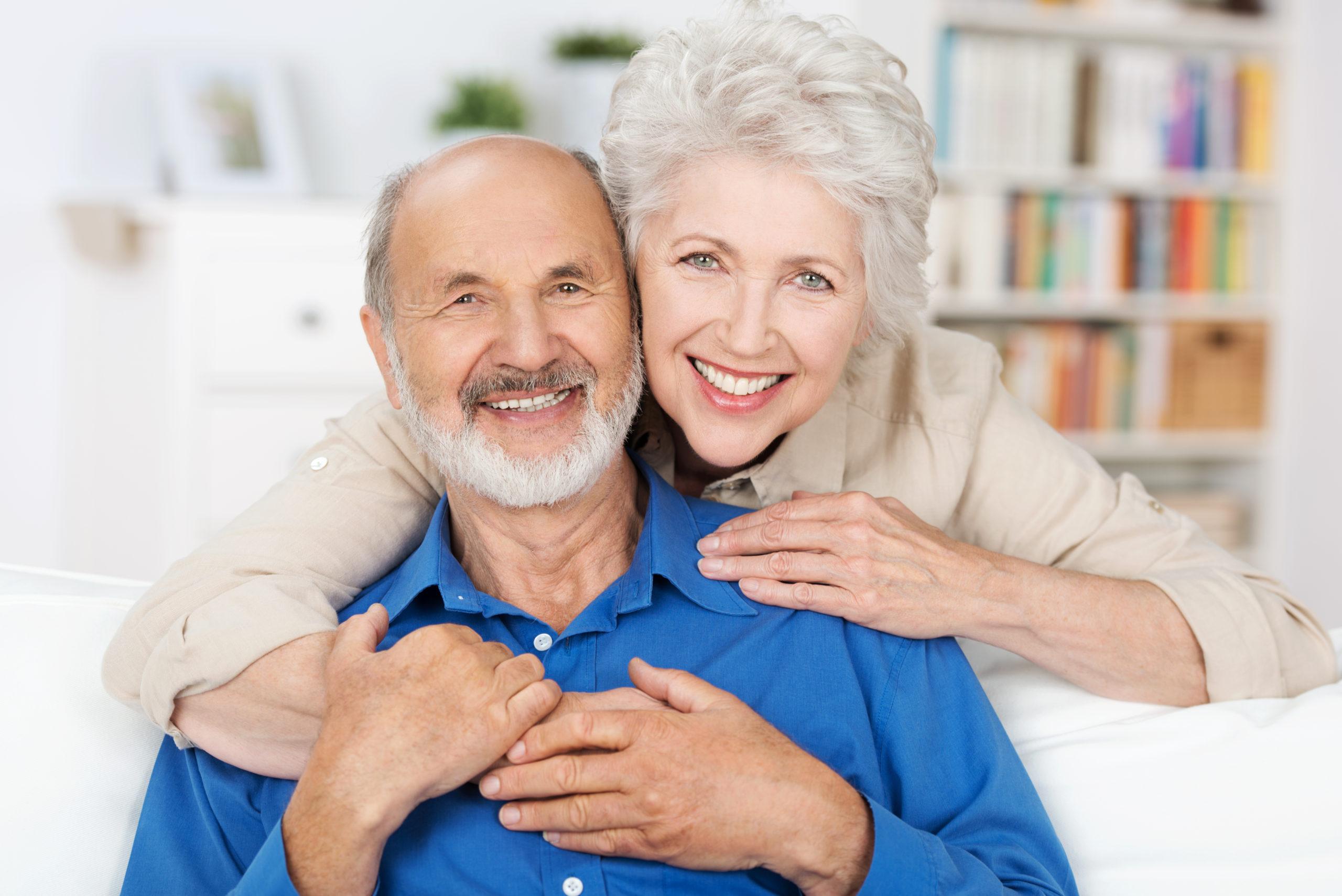 Immagine coppia di anziani