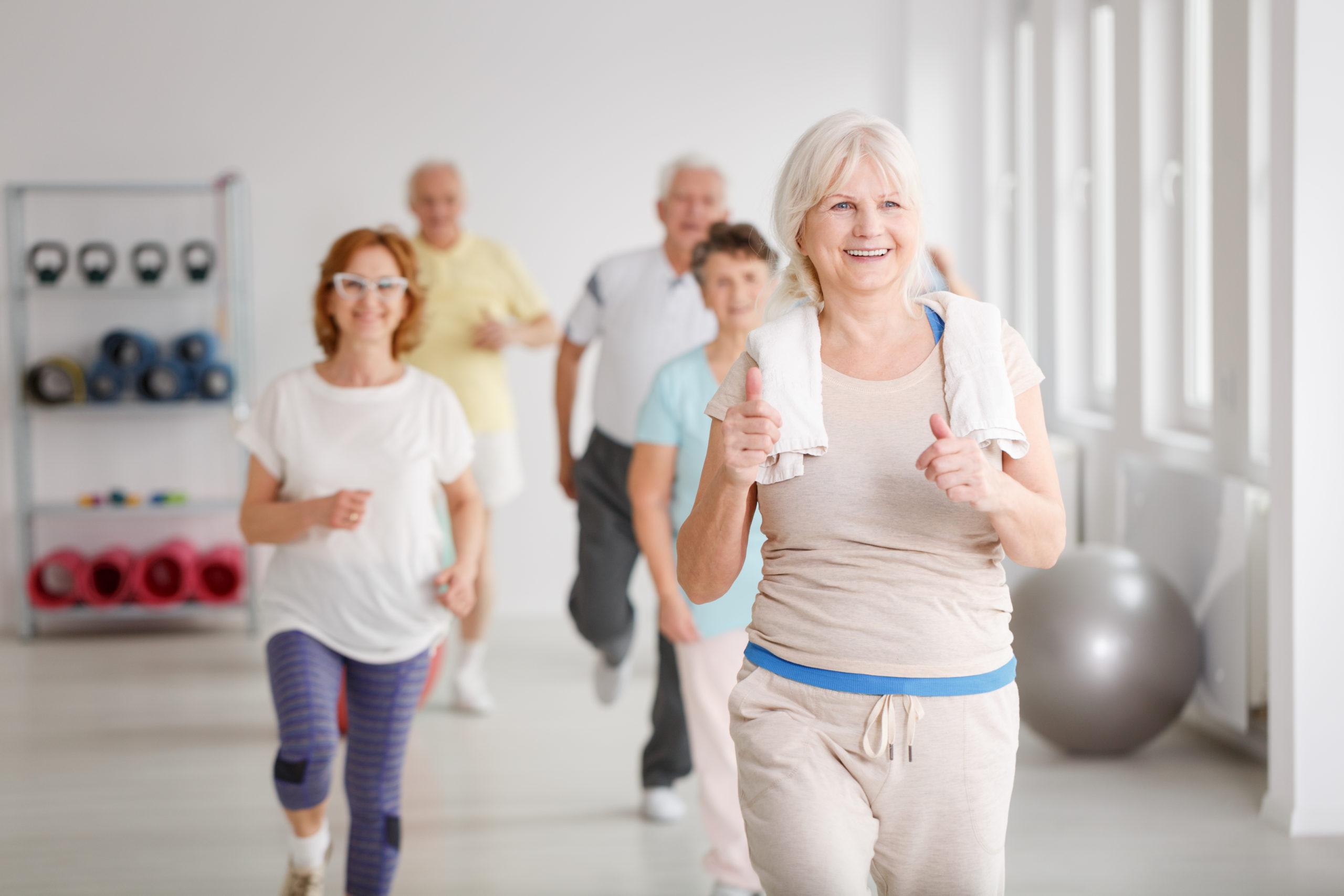 personeche fanno esercizio fisico